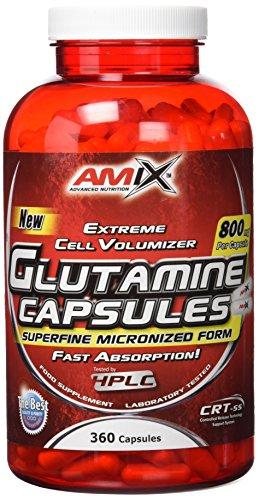 Amix Glutamine Aminoácido - 8 gr__8594159532717
