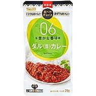 S&B How to eat Choice dal (Bean) Curry Medium Spicy 75 g × 10 Japan