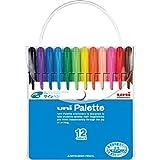 Mitsubishi Pencil Co., Ltd. Uni-felt-tip pen palette 12 color set (japan import)