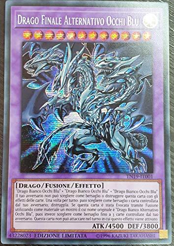 Yu-Gi-Oh - Drago Finale Alternativo Occhi Blu - Rara Segreta - TN19-IT001 Italiano
