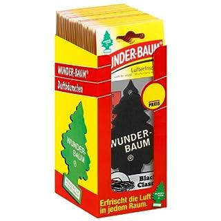 Wunder-Baum 134239/24 Lufterfrischer 24-er Box Black Classic