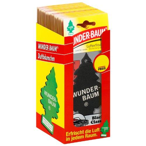 Wunder-Baum 134239/24 Lufterfrischer 24-er Box Black Classic (Baum Auto Lufterfrischer)