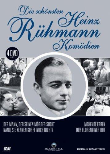 Die schönsten Heinz Rühmann Komödien [4 DVDs]