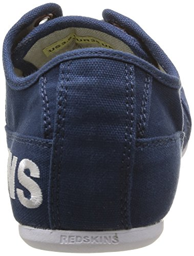 Redskins Tempo Cadet, Baskets mode garçon Bleu (Navy/Blanc)