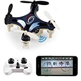 2016 Newest LIDI L7W(Better than CX10W) Mini WIFI FPV RC Quadcopter Drone for beginners, kids With 0.3MP HD Camera RC Aircraft-black/white random