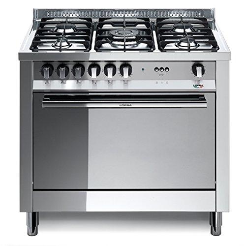 Lofra MG96GV/C Cucina freestanding Acciaio inossidabile Gas A