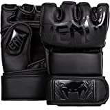 Venum Undisputed 2.0 MMA Gloves - Black/Matte, Large/X-Large