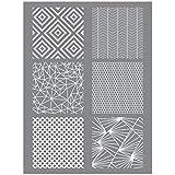 Modelleersjabloon voor polymeerpasta, geometrische vormen, creatief korrel
