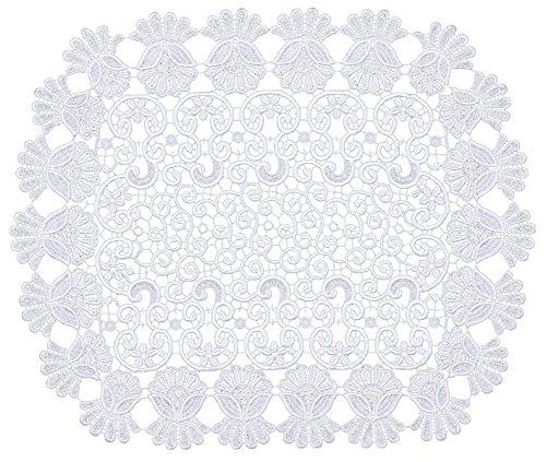 Adesivi 093251Runner Gipüre, 60x 50cm, bianco - Adesivo Runner