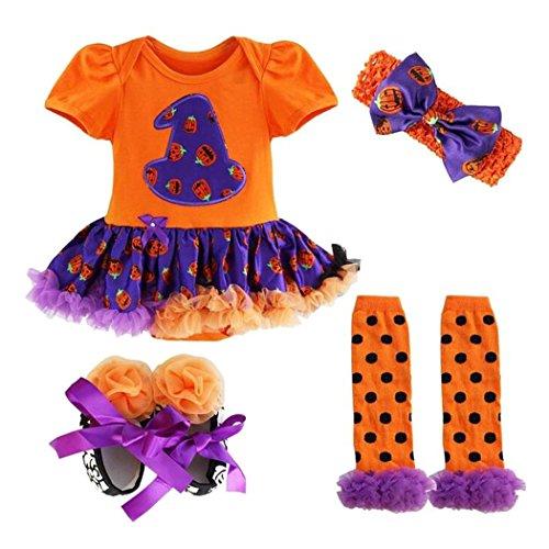 m Kleid Halloween-Kleid Fasching Karneval Cosplay 4PSC (Lustig Jungs-halloween Kostüme)