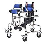 KOSHSH Gehrahmen für die Sicherheit von Kid, Höhenbreite Verstellbarer Hemiplegic Rehabilitation Standing Rahmen ideal für den Außenbereich
