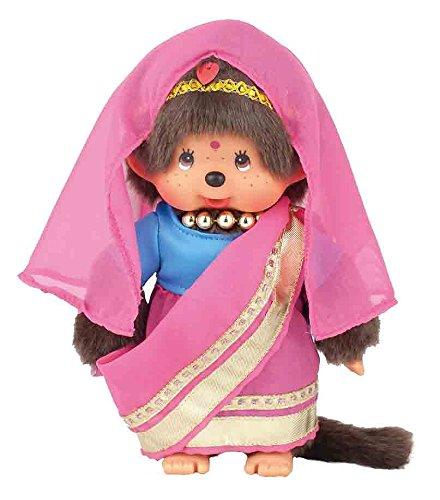Sekiguchi Mädchen Monchhichi World Monchhichi Indien Girl Puppe von Sekiguchi