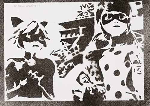 Miraculous Geschichten Von Ladybug und Cat Noir Handmade -