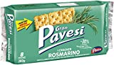 Gran Pavesi Croccanti Cracker Salati al Rosmarino, I Gustosi, 8 Pacchetti, 280 g