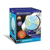 Discovery TDK36 Night Light 20cm Illuminate Globe, Multi