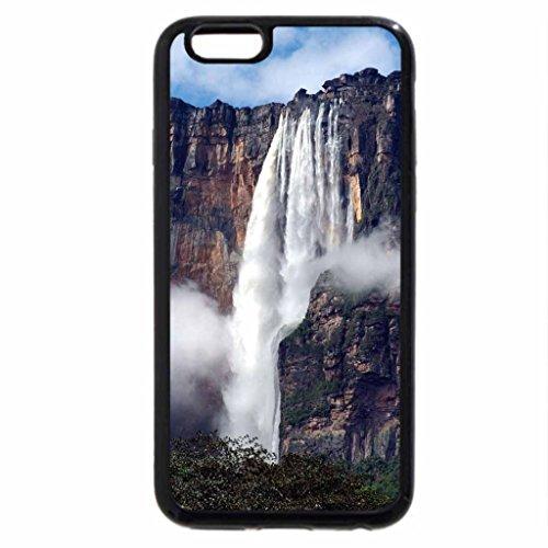 iPhone 6S Case, iPhone 6 Case (Black & White) - Angel Falls, Venezuala