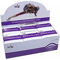 NASARA Kinesiologie Tape kinesiologische Tapes * lila * 5m x 50mm * Spenderbox (6er VE Umkarton) preisvergleich bei billige-tabletten.eu