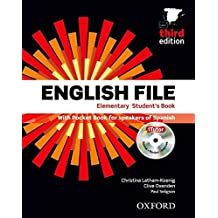 English File Elementary, Third Edition (Student's Book ,  Pocket Book, iTutor DVD, Workbook with Key and iCheck CD, Vocabulary Checker) (English File Third