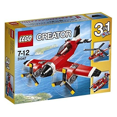 Lego Creator 31047 - Propeller-Flugzeug, Bausteinspielzeug, - 3-in-1-transformer-spielzeug