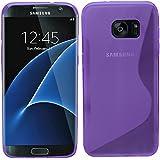 Samrick S Wave Coque de protection en hydrogel pour Samsung Galaxy S7bord–violet