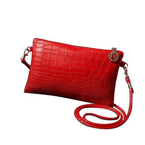 Feixiang, Borsa a tracolla donna Red
