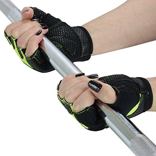 Mirafit Black &Amp; – Weight Lifting Gloves