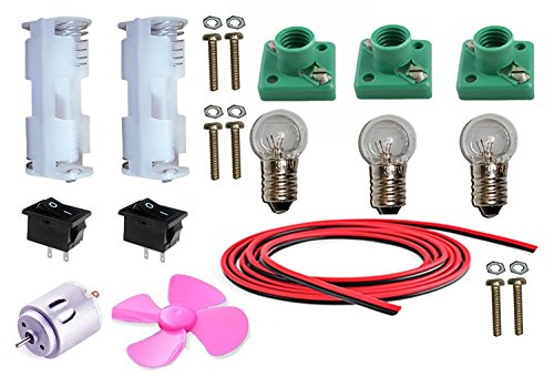 ELECTRONICS 25 ITEMS LOOSE PARTS MATERIALS SCIENCE PROJECT KIT