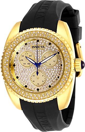Invicta 28485 Angel Orologio da Donna acciaio inossidabile Quarzo quadrante oro