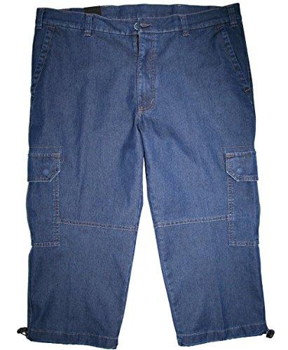 Luigi Morini -  Pantaloncini  - cargo - Basic - Uomo Blue - Blue 42
