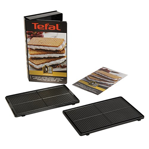 51EbfMW0HEL. SS500  - Tefal XA800512 Snack Collection Wafer Maker Non Stick Plates Set, Black (Accessory)