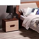 FJIWDTGYHFGT Modern nordic,Lager nachttisch,Schlafzimmermöbel zwei-Farbe optional bett schrank-A 50x40x44cm(20x16x17inch)