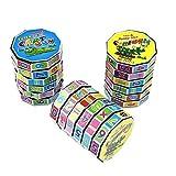 AGLKH Cubo Magico Digitale Cilindro per Bambini Aggiunta Matematica Sottrazione Calcolo Formazione Giocattolo per Bambini Giocattoli per l'educazione precoce, 3 Pezzi