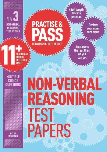 Practise & Pass 11+ Level Three: Non-verbal Reasoning Practice Test Papers: Level 3 Cover Image