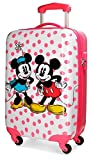 Disney Dots Valigia per bambini, 55 cm, 35 liters, Multicolore (Multicolor)