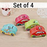 #6: TiedRibbons Kid's Birthday Party Return Gift Sets for Kids Girls Boys Coin Money Bank(Set of 4)