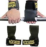 Hydar Strength Gewichtheber-Bandagen, Dual-Funktionalität von Handgelenkbandagen und Handschuhe, gepolstert