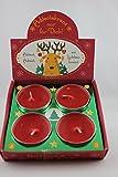 Sheepworld, Gruss und Co - 49651 - Adventskranz, Nur für Dich, Rentier, 4 Kerzen, Duftrichtung: Vanille Traum, 10cm x 10cm x 2cm