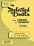 1: Selected Duets for Cornet or Trumpet: Easy-Medium (Rubank Educational Library)