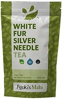 Pooki's Mahi White Fur Silver Needle Tea, 2 Ounce