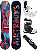 Airtracks DAMEN SNOWBOARD SET - BOARD DALIAH 140 - SOFTBINDUNG MASTER W - SOFTBOOTS STAR W 39 - SB BAG