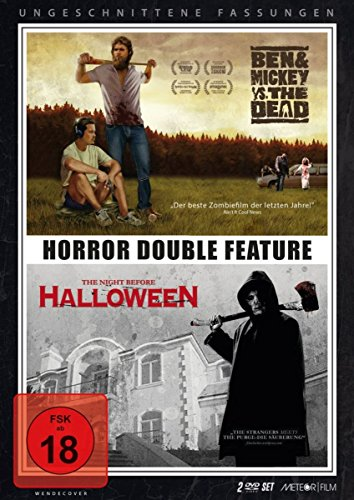 Double Horror Feature: Ben & Mickey vs. The Dead - The Night Before Halloween [2 DVDs] (Mickey Halloween-film)
