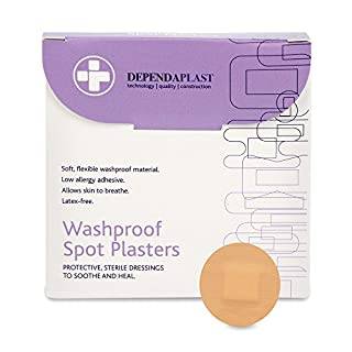 Reliance Medical Dependaplast Washproof Plasters (Pack of 100)