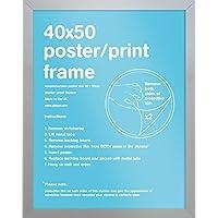 GB eye Ltd Mini Poster Frame, 40 x 50cm, Silver