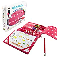 Pipity Activity Case: arts and crafts set with built in easel, on-the-go and travel entertainment