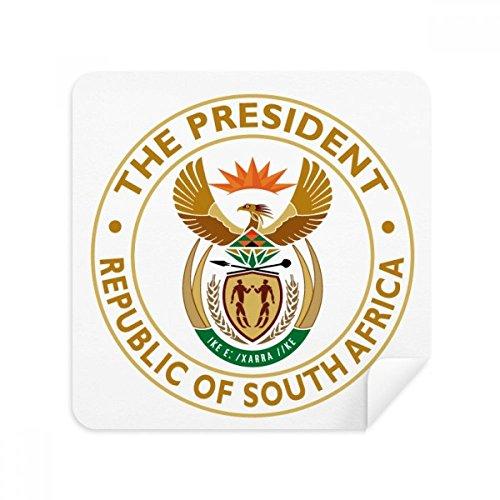 DIYthinker Südafrika Afrika Emblem Brillen-Reinigungstuch Phone Screen Cleaner Suede Fabric 2Pcs