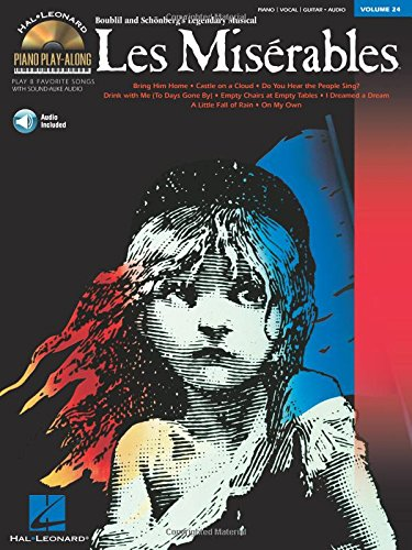 Les miserables piano+CD: Play Along: 24 (Hal Leonard Piano Play-Along)
