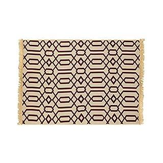 Group Asir LLC Ya Kenar Rug, Claret Rot, 60 x 90 cm