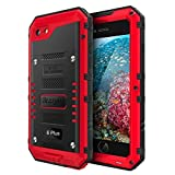 Best Cell Phone For Construction Workers - Iphone 6 Plus Case with Built-in Screen Military Review