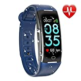 KARSEEN Fitness Tracker, Activity Tracker Watch with Heart Rate Monitor Waterproof IP67 Fitness Watch,Sleep Monitor Step Counter Pedometer Smartwatch for Women Men Call SMS Push for iOS Android Phone