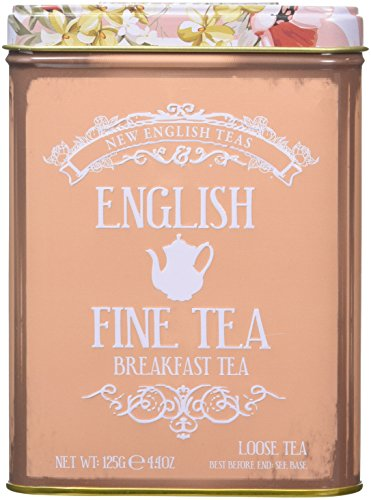 New English Teas English Breakfast Loose Leaf Black Tea, 125 g